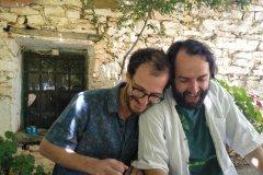 Miguel Rodrigáñez, Rainer Seiferth - recording session 2019